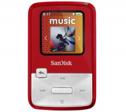 Sandisk Sansa Clip Zip 4GB MP3 Player für 29,99 € (44,50 € Idealo) @eBay