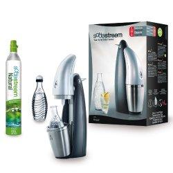 Sodastream Penguin Wassersprudler mit Zylinder und 2 Glaskaraffen nur 87,30€ inc. Versand (idealo:123€)