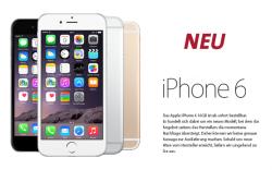 Sparhandy iPhone 6 Special – z.B. Internet Flat, Allnet Flat und SMS Flat für 39,99 € monatlich