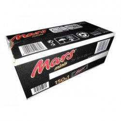 Süßwaren & Knabberartikel mit MHD recht Preisgünstig z.b. 150 Mars minis für 9,99€ [idealo 19,99€] @ Mapalu.de