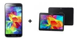 Telekom Complete Comfort S  für 29,99€ mtl. inkl. Samsung Galaxy S5 + Samsung Galaxy Tab 4 10.1 + 15.000 Meilen @ Logitel