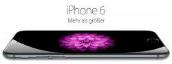 Vodafone Smart XL Junge Leute Aktion + iPhone 6, 64GB für 33,99€ mtl. @sparhandy