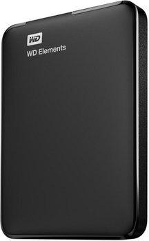 WD Elements 1TB, tragbare Festplatte, schwarz, 2,5 Zoll USB 2.0 /3.0 für 49€ bei @mediamarkt (idealo: 59€)