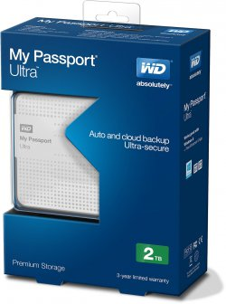 Western Digital My Passport Ultra 1TB für 55,55 € inkl. Versand (67,99 € Idealo) @eBay