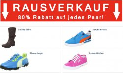 Zengoes: Sale mit 80% Rabatt auf Schuhe!