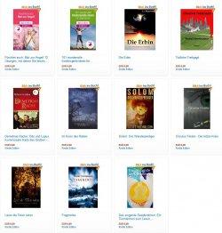 11 neue gratis eBooks. zB. der Fantasyroman Im Kreis des Raben ( 4,4 Sterne)