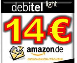 14€ Amazon Gutschein + Sim Karte mit 10€ Startguthaben für 1,95€ @ebay