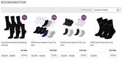 15er Pack Puma Sneaker,Puma Quarter oder Puma Sport Socken für 25,50€ oder 6er Pack Esprit Damen Socken für 18,35€ durch Gutschein @mybodywear