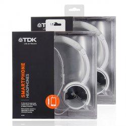 2 Stück TDK ST170 Over-Ear-Kopfhörer mit eingebautem Mikrofon und Fernbedienung für 24,95 € zzgl. 5,95 € Versand (39,28 € Idealo) @iBOOD Extra