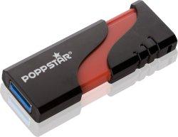 32 GB Poppstar flap USB 3.0 Stick für 14,99 € inkl. Versand (19,90 € Idealo) @Meinpaket