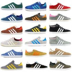 33% @ebay adidas Originals GAZELLE Retro Sneaker Leder