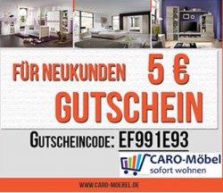 5,-€ Gutschein MBW 50€ für Neukunden bei caro-morbel.de und versandkostenfrei !