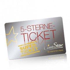 5-Sterne-Ticket für 25€ statt 32,50€ @Cinestar