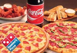 50% Pizza Rabatt bei @Dominos Pizza