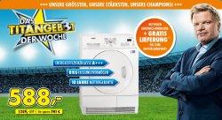 AEG Lavatherm 67680IH Wärmepumpentrockner für 588 € (728 € Idealo) @Euronics