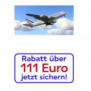 Airfrance: 111 € Gutschein mit nur 140 € MBW auf Langstreckenflüge @airfrance.de