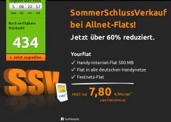 Allnet-Flat im E-Plus Netz incl. 500 MB für 7,80€ mtl. @Crashtarif