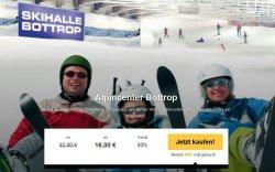 Alpincenter Bottrop Tageskarte  inkl. Essen & Trinken für 16€ statt 32€ @Travelbird