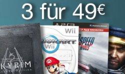 @Amazon – Aktion: 3 Spiele für nur 49€