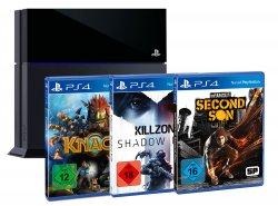 @amazon.de: 399,-€ für PlayStation 4 + 3 Games FSK 18 (Killzone Shadow Fall + Second Son + Knack)