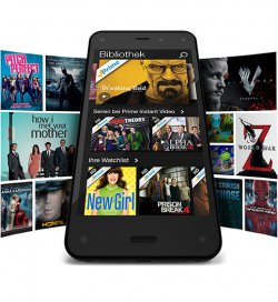 Amazon Fire Phone, 64 GB ohne Vertrag bei @Amazon für 10€ Prime bzw. 13€ ohne Prime (idealo: 549€)