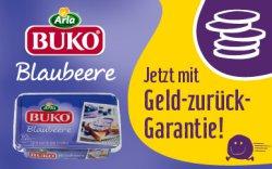 Arla Buko BlaubeerFrischkäse gratis testen – Aktionspackungen bis 27.02.15 erhältlich