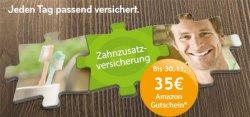 asstel: Zahnzustazversicherung mit 35 € Gutschein oder 1 Jahr Haftpflicht Versicherung mit 25 € Gutschein