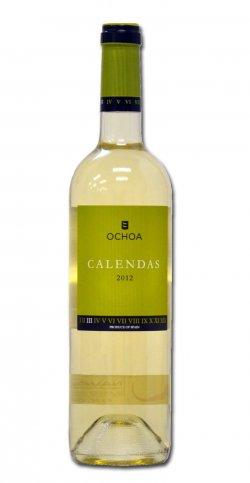 Bodegas Ochoa Calendas Blanco Viura Chardonnay Moscatel 2011 Weisswein – 6×0,75 Liter Flaschen (6er Karton) für 10,90€ (eine Flasche kostet 5,90€) bei @Amazon