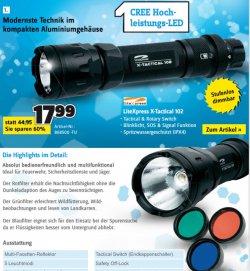 @conrad.de : LED Lampen drastisch reduziert + versandkostenfrei bis 15.10. z.B.LiteXpress X-TACTICAL 102 nur 17,99€