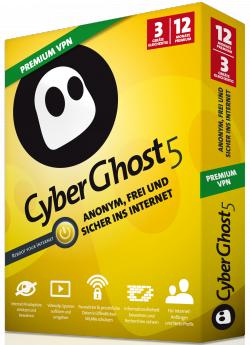 CyberGhost 5 Special Edition für 1 Jahr GRATIS