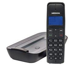 DECT Telefon + integr. Anrufbeantworter MEDION LIFE E63063 MD 84058 für 9,95 € inkl. Versand (19,95 € Idealo) @Medion