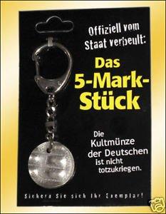 @elv.de: anlässlich des Feiertages 03.10. – Gratis 5 DM Kult Schlüsselanhänger