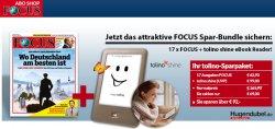 @focus-abo.de: 17x FOCUS a 3,70€ bestellen und einen tolino shine ebook Reader für 6,10€ dazu bestellen !