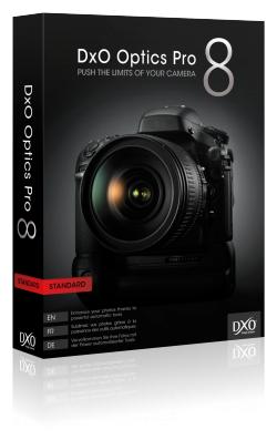 Fotobearbeitungs-Software DxO Optics Pro 8  kostenlos als download für Win & Mac @dxo.com