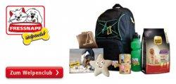Frassnapf Aktion: Mitglied im Welpenclub werden und Begrüssungsgeschenk im Wert von 60€ erhalten