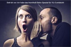 fromAtoB Bahn-Spezial: Ab 19 € quer durch Deutschland @ fromatob