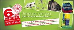 Galeria Kaufhof: 6 Tage Rennen – täglich ein neues Schnäppchen + 15 Euro Gutscheincode