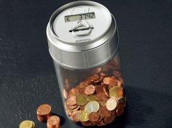 Spardose mit elektronischem Münzzähler gratis dazubestellen oder einzeln mit 4,90€ Versandkosten @pearl.de