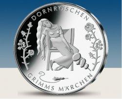 Deutsche 10 Euro Gedenkmünze Dornröschen nur 15,95€ inkl. Versandkosten @MDM
