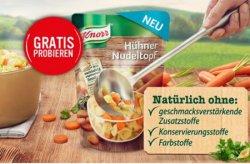 Gratis Knorr Eintöpfe (cashback) Potokosten 0,60€ @knorr.de