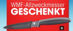 GRATIS WMF Allzweckmesser bei kauf von 3x Zewa Wisch und Weg @zewa.de