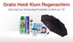 Heidi Klum Regenschirm im Wert von 9,99€ gratis beim Kauf von Schwarzkopf Produkten im Wert von 10€ @Amazon