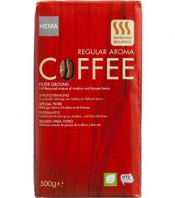 HEMA 15% Gutscheincode anwendbar mind. 5 Artikel bestellen z.b. 10 x Hema REGULAR AROMA Coffee 500gramm für 21,25 €