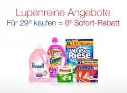 Henkel Rabatt-Aktion @Amazon mit 6€ Sofortrabatt z.B.Weißer Riese Kraftgel für 38,85 € (79,92 € Idealo)