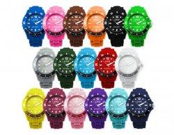 Herren, Damen  CM3 Silikon Armbanduhr für 2,99 € inkl. Versand [ idealo 6,99 € ] @ MeinPaket