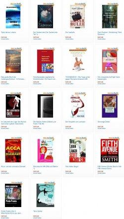 Heute gleich 20 Gratis eBooks – zB Der Isarbulle – Bewertung 4,2 Sterne – Printversion 12,90€