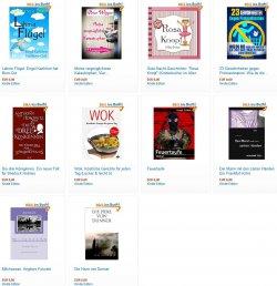 Hier die neuen gratis-eBooks. zB. die heiteren Kurzgeschichten -Meine vergnüglichsten Katastrophen- Bewertung 4,7*