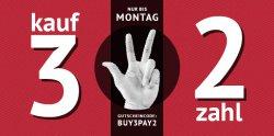 Hoodboyz: Kauf 3 zahl 2 mit Gutscheincode