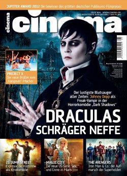 Jahresabo der Zeitschrift Cinema für 10,20 € statt regulärer Preis 55,20 €