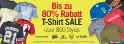 MandM Direct: Bis zu 80 Prozent Rabatt auf über 800 T-Shirts (T-Shirts ab 3,16 Euro) nur bis zum 09.10.